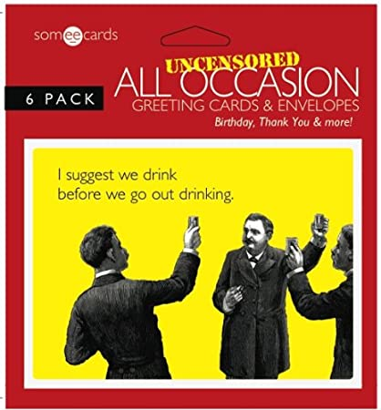 Amazon Someecards Uncensored All Occasion Greeting Cards