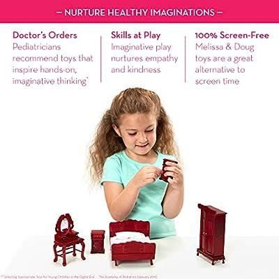 Melissa & Doug Victorian Dollhouse Furniture Bundle: Melissa & Doug: Toys & Games