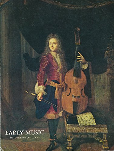 (Early Music : John Jenkins 1592; John Rose & English Viol Making; Bass Viol Music in France c. 1680; Reconstructing 16th Century Venetian Viols; Use of Bow in French Viol Playing; Consort Music of Orlando Gibbons; Fingering by Ganassi)