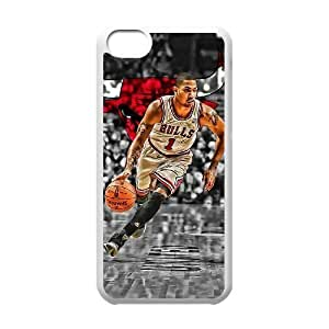 Basketball Nba Derrick Rose Case Compatible With For SamSung Galaxy S5 Case Cover Hot Protection Case(best Gift Choice For Lovers)