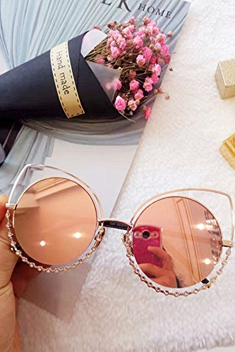 Generic /_New_Korean_style_of wild_cat's_eye_ sunglasses fashion ,_insert_drill_ sunglasses _color_ fashion sunglasses _men - Brand Sunglasses Korean Celebrity