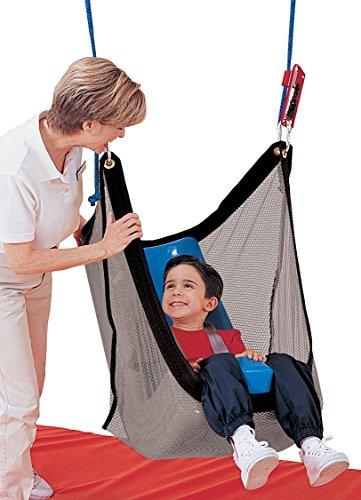 (Tumble Forms 2 Deluxe Vestibulator II System, Net Swing with Positioning Seat, Accessory for Sensory Integration Therapy Equipment, Enhance Spatial Awareness & Balance, Aid for Special Needs Patients)