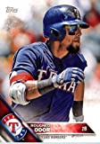 2016 Topps Team Edition #TRA-6 Rougned Odor Texas Rangers Baseball Card in Protective Screwdown Display Case