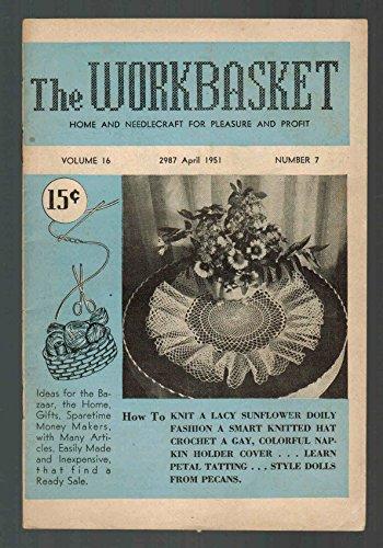 Workbasket Home Arts Magazine April 1951