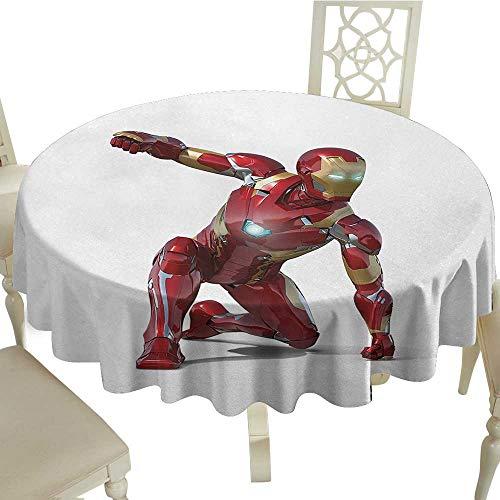 Superhero Circular Table Cover D 36