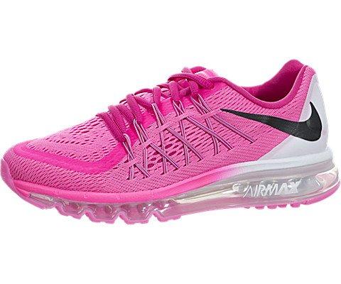 Nike Kids Air Max 2015  Pink Pow/Black/Vivid Pink/Wht Runnin
