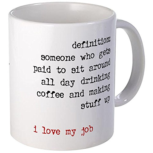 CafePress Writer Unique Coffee Mug