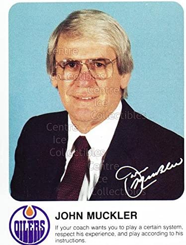 Amazon.com: (CI) John Muckler Hockey Card 1985-86 Edmonton Oilers Red  Rooster 22 John Muckler: Collectibles & Fine Art