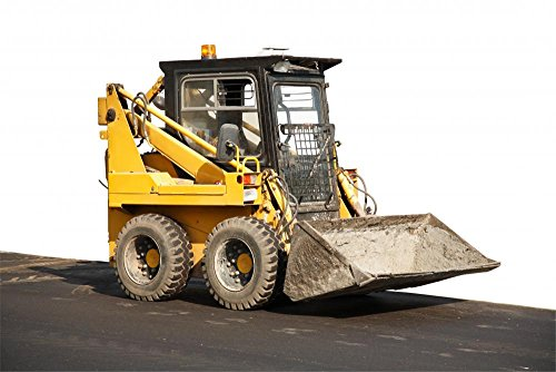 Wallmonkeys Skid Steer Loader Wall Decal Peel and Stick Graphic WM335202 (30 in W x 20 in ()