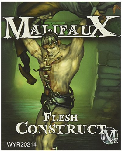 Wyrd Miniatures Malifaux Resurrectionists Flesh Construct with Victim Model ()