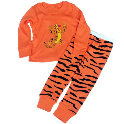 "[LB]""Tigger""Pajama Set 100% Cotton Long Sleeve G7260T3"