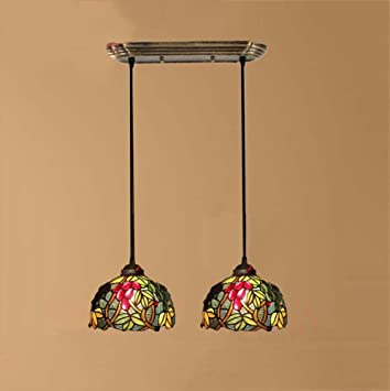 GAOLIQIN American Retro Tiffany Chandelier Hand Crafted ...