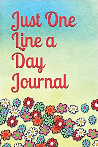 just-one-line-a-day-journal-five-years-of-memories-watercolor-floral-cover-design-diary-journal