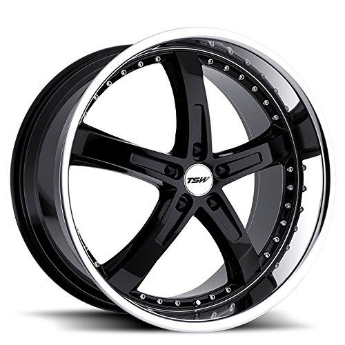 TSW Jarama Wheel Rim Gloss Black Mirror Lip 20x8.5 5x120 35mm