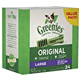 Greenies Original Large Dental Dog Treats, 36 Oz. Pack (24 Treats), Makes A Great Holiday Gift For Dogs