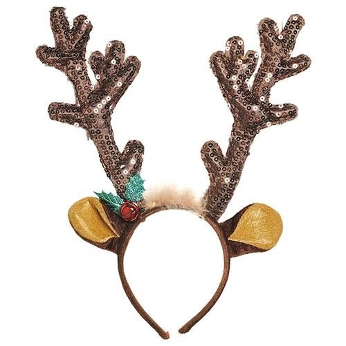 Christmas Party Reindeer Antler Headband