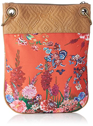 Desigual 3074 BOLS Ikebana Rosso B x Tracolla H a Donna x T Borsa BANDOLERA 1x30x25 cm rrqwd8