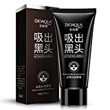 #2: Bioaqua Black Mask Nose Acne Blackhead Remover Peel Mud Deep Cleaning Anti Aging Facial Mask,(2.11 oz)