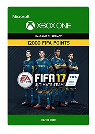 FIFA 17 Ultimate Team FIFA Points 12000 - Xbox One Digital Code