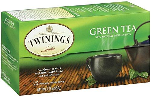 Twinings green tea,net weight 1.76 ounce (pack of 6 )