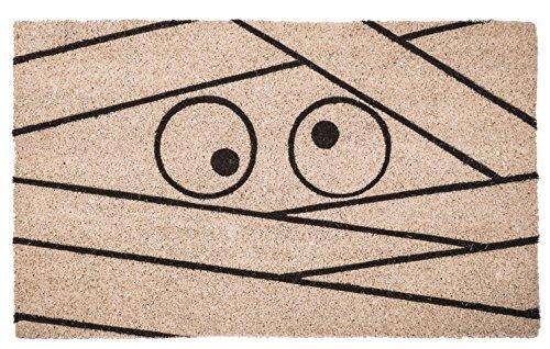 Entryways P2129 Non Slip Coir Doormat Nonslip, (Mummy Door For Halloween)