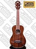 Oscar Schmidt OU5 Concert Ukulele, Koa Top,wTMS Polishing Cloth
