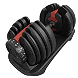 FXR Sports Commercial Quality Fully Adjustable 24kg Dumbbell Set (Sold Individually Or As A Pair) (2...