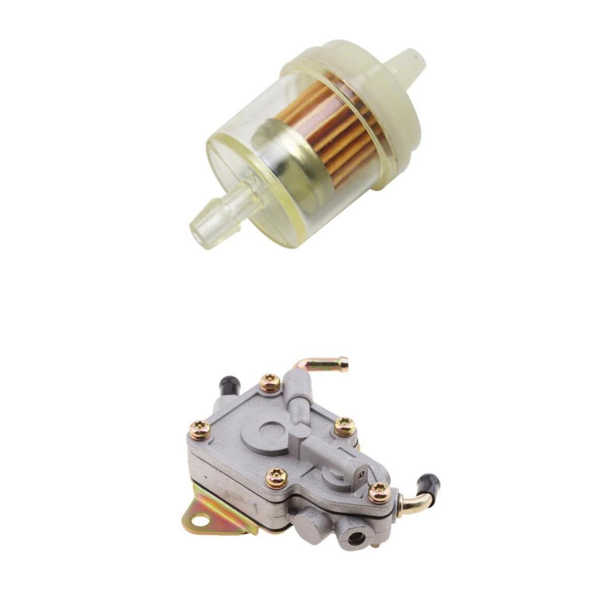 Amazon.com: Baoblaze Fuel Pump + Filter For YAMAHA Rhino 450 660 UTV  5UG-13910-01-0 5UG13910010 2007-2009: Automotive