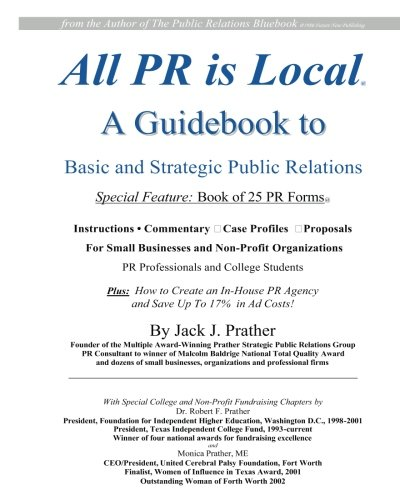 All PR Is Local: guidebook for businesses, non-profits, students