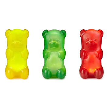 15243cb7f Amazon.com  10mg per Gummy Bear (3 per Pack) Organic Full Spectrum ...