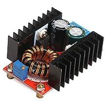 DROK® Micro DC Voltage Converter Power Transformer 120W 12V/24V/48V 10-32V to 35-60V Volt Regulator Module Boost Step-up Inverter Board DIY Charger for Car Auto Vehicle Motor etc