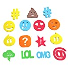 Bath Tags - Playtime Non Slip Bathroom Mat Stickers Toys For Showers - Slip Pebbles, Bath Tub Stickers Non Slip - Non-Toxic Floating Letters, Use as Stickers in Bathrooms Mirrors.