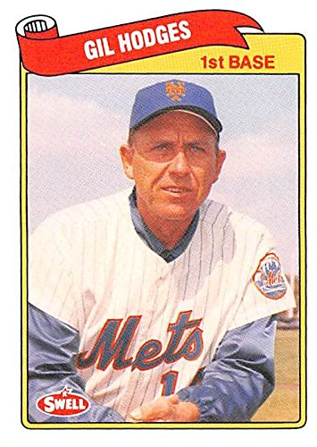 Gil Hodges Baseball Card New York Mets Manager 1969 1989