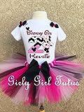 Minnie Mouse Birthday Girl Tutu Outfit Set