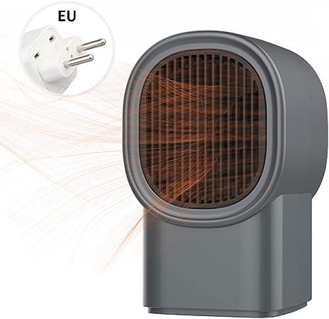 Womdee Mini Appareil de Chauffage 600W Radiateur Soufflant Electrique C/éramique avec Chauffage Rapide 2s Radiateurs de Bureau Ultra-Silencieux 50/°C Chauffage par Oscillation Automatique