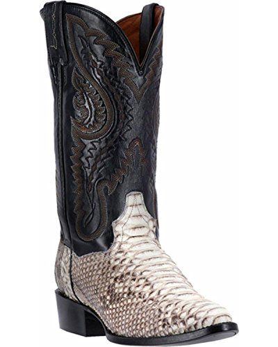 Dan Post Python Mens Boots (Dan Post Men's Omaha Western Boot, Natural, 9.5 D)