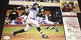Kevin Kiermaier Tampa Bay Rays Autographed Signed 8x10 Photo JSA WITNESS COA Z