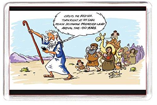 Jew Jewish Moses Gps Tomtom Red Sea Ocean River Fridge