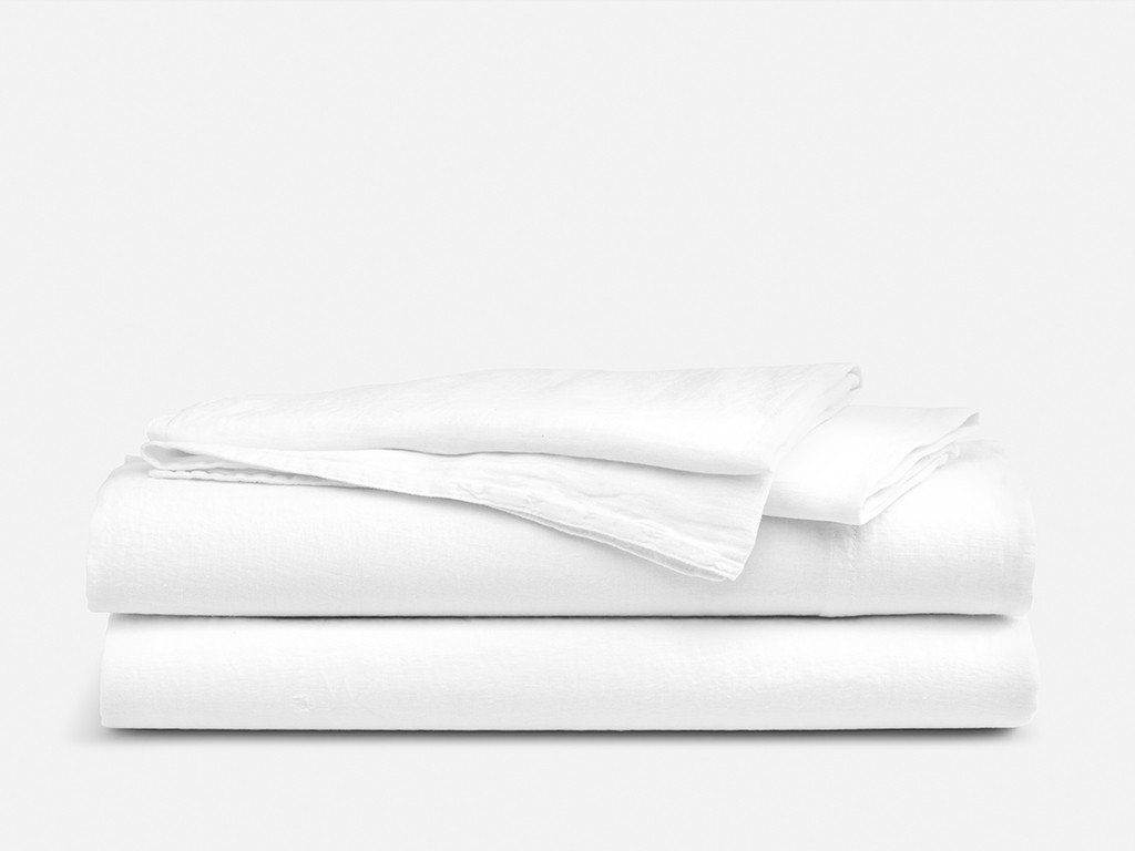 Hotel Sheets Direct 100% Bamboo 4 Piece Bed Sheet Set - 1800 Thread Count - Hypoallergenic - Eco Friendly (Queen, White)