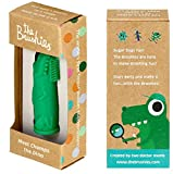 Made in the USA - baby and toddler toothbrush - Team member: Chomps the Dino!