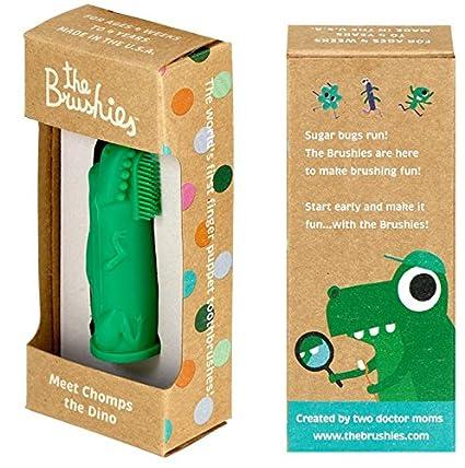 Cepillo de dientes para bebés y niños - Miembro del equipo: El Dino Chompo!