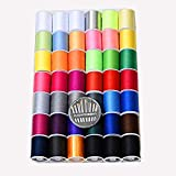 42 Color (2300Y) Sewing Thread Kit High Strength