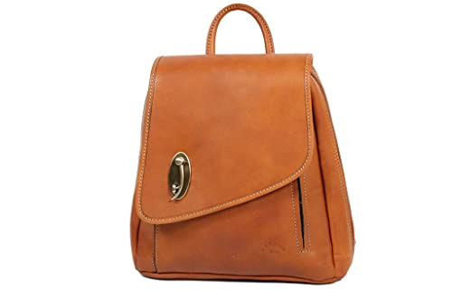 Katana - Bolso mochila de Piel para mujer dorado: Amazon.es: Ropa y accesorios