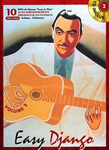 Easy Django Vol.2 (French Edition) - Django Reinhardt Sheet Music