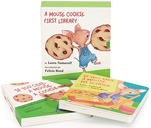 A Mouse Cookie First Library (If You Give...)