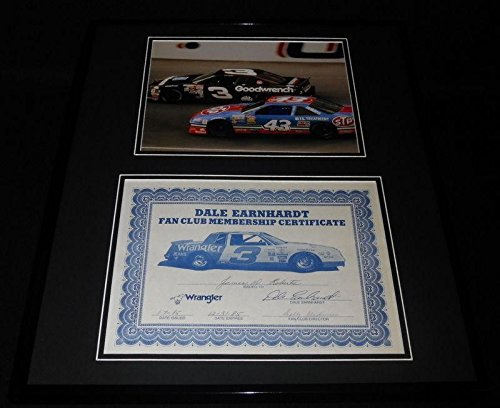 Dale Earnhardt Sr. Signed Picture - Framed 1985 Fan for sale  Delivered anywhere in Canada