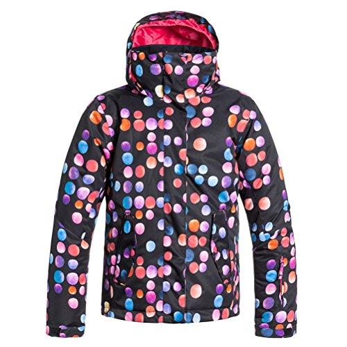 Roxy Big Girls' Jetty Snow Jacket, Cosmic Dots, 16/XX-Large
