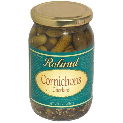 Rol and Cornichons, Tiny French, 12-Ounce (Pack of 12)