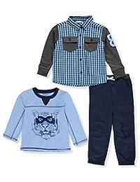 Nannette Little Boys' 3-Piece Outfit