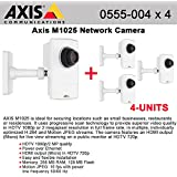 AXIS M1025 4-PACK- 0555-004 HDTV 1080p Camera with HDMI and edge storage PoE